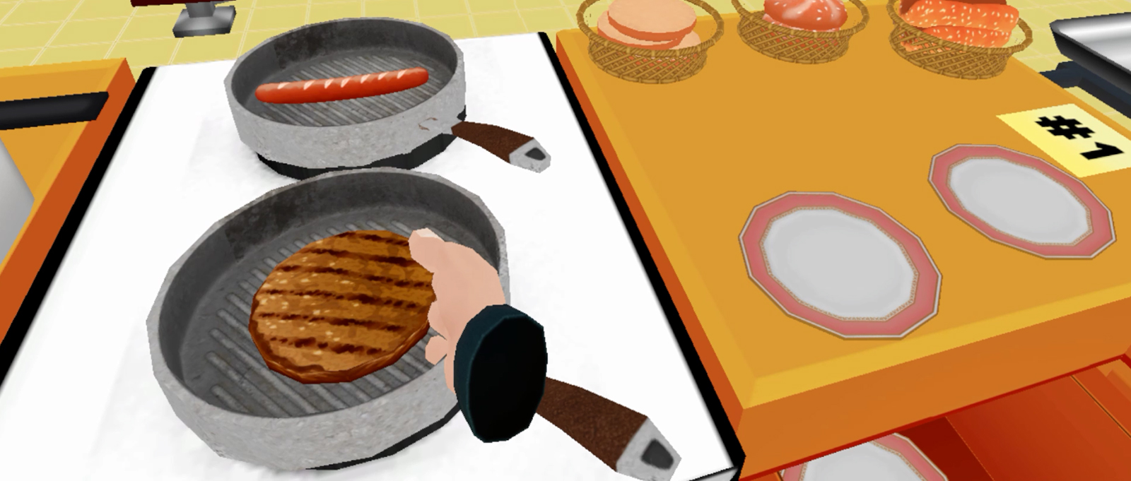 the Cooking Game VR NEWS